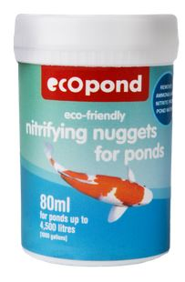 Nitrifying Nuggets for Ponds